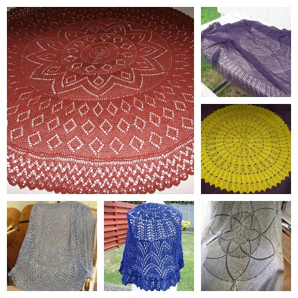 pi shawls knitting