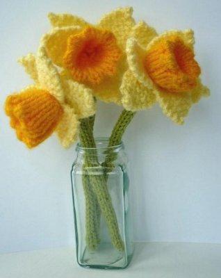 daffodil knitting pattern