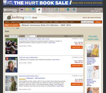 don't miss interweave's hurt book sale