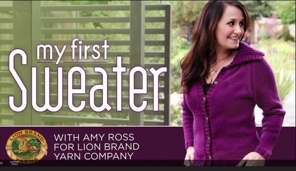 Great resources for learning to knit sweaters