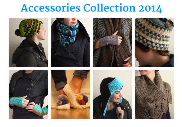 check out the latest collection of accessories from Holla Knits.