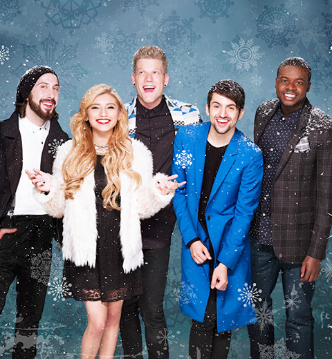 knit an ugly christmas sweater for Pentatonix