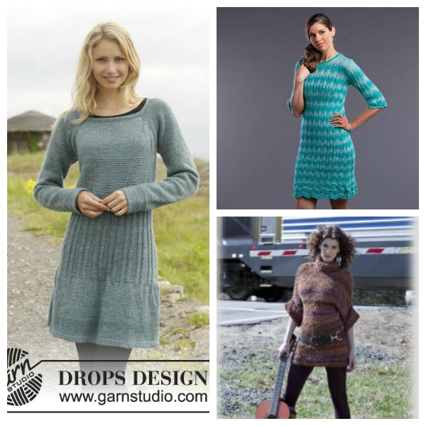 Sweater Knitting Is Great So How About A Sweater Dress Knitting