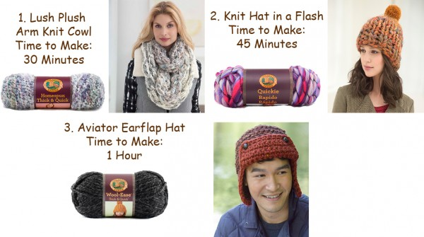 Fast knitting projects and other trends for 2015