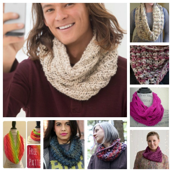 check out these great free cowl knitting patterns