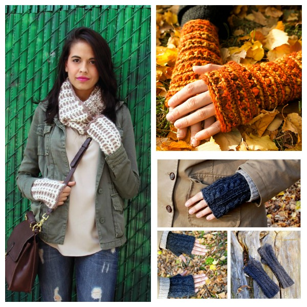 Fingerless mitts you still have time to knit