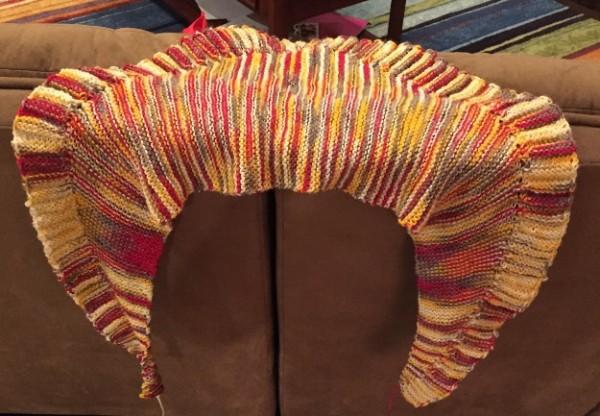 my maedwe shawl