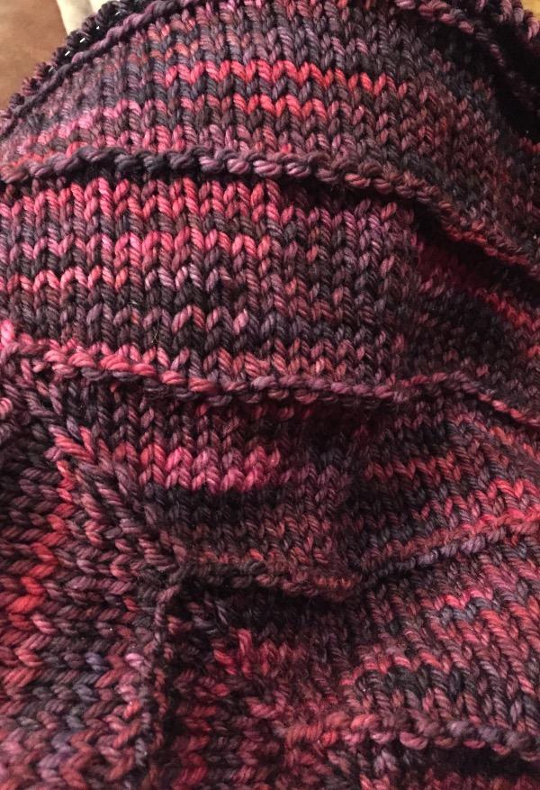 boneyard shawl wip