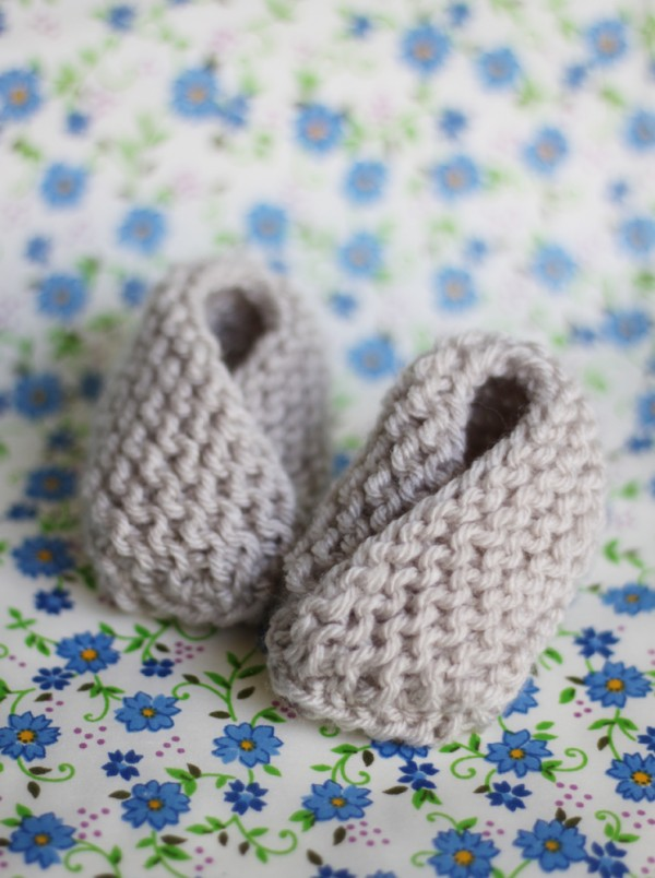 Baby Booties Pattern Knitting Free