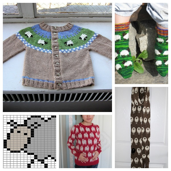 projects with sheep on them for the year of the sheep