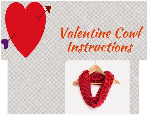 easy valentine cowl