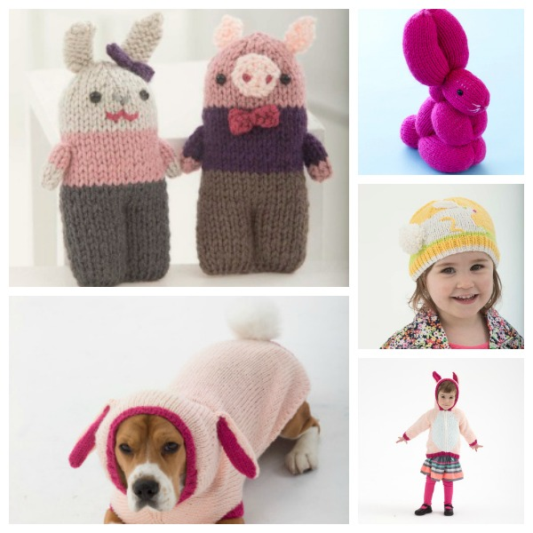 Fun Easter Projects From Lion Brand Knitting