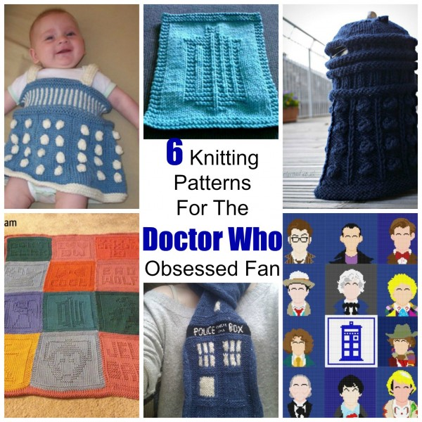 Dr Who Knitting Patterns : 6 Knitting Patterns For The Doctor Who Obsessed Fan   Knitting