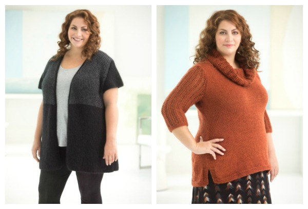 curvy girl collection lion brand