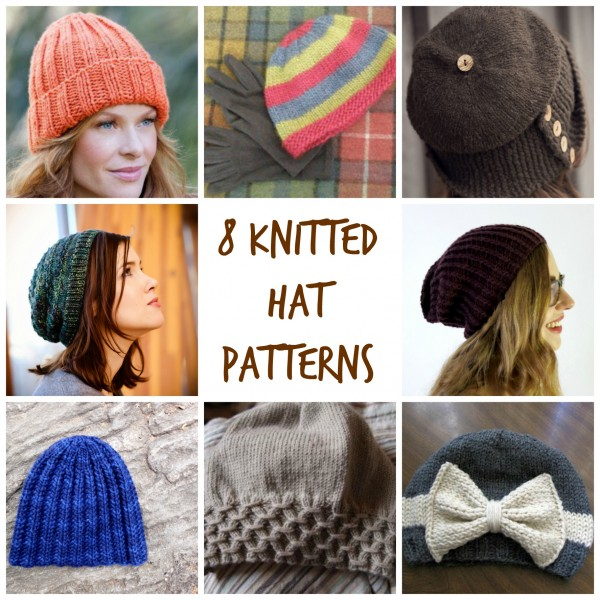 8 Knitted Hat Patterns – Knitting