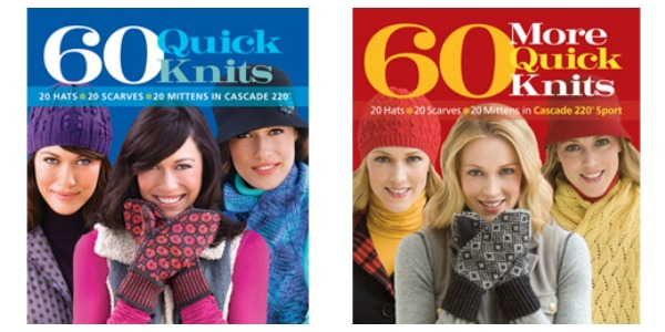 quick knitting books giveaway