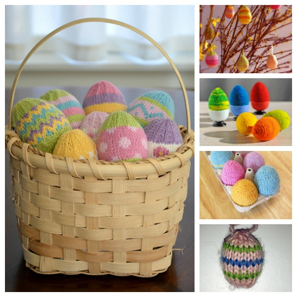 Easter egg knitting patterns