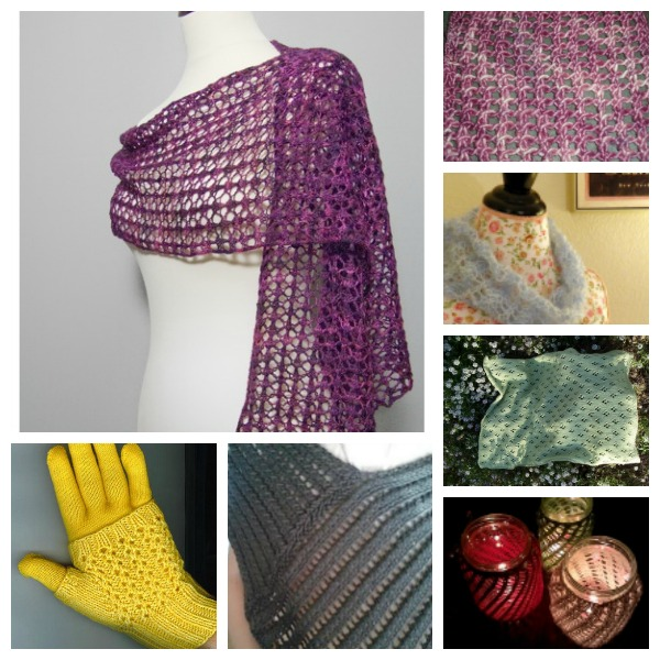 Easy lace knitting patterns