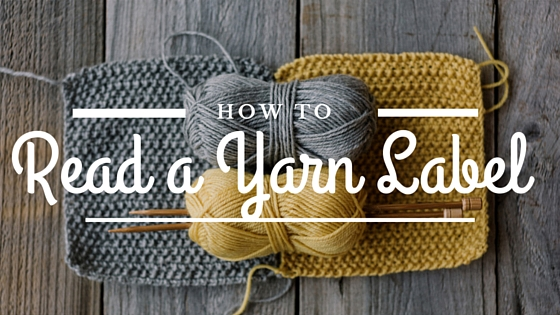 How to read a yarn label with Vickie Howell.