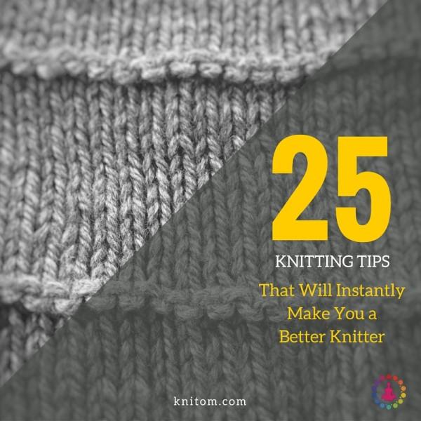 Knitting Or Crochet Better : Ways to make your knitting better