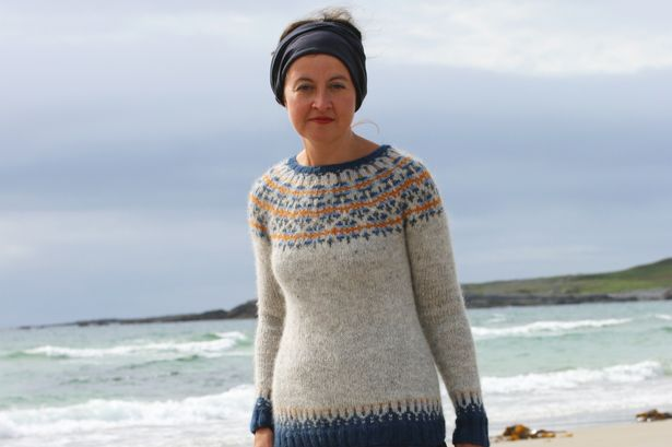 Kate Davies knit her way back to health after a stroke.