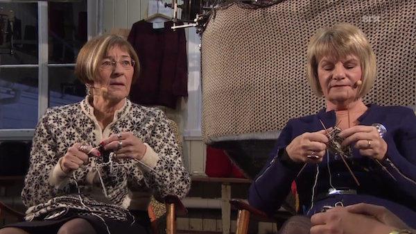 slow knitting on netflix