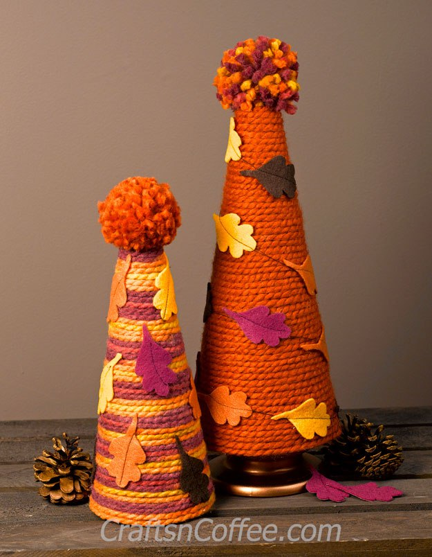 diy fall yarn crafts