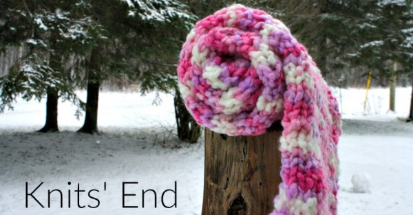Knitting Scarves Patterns For Charity : Knit a Simple Bulky Scarf to Treat Yourself or for Charity   Knitting