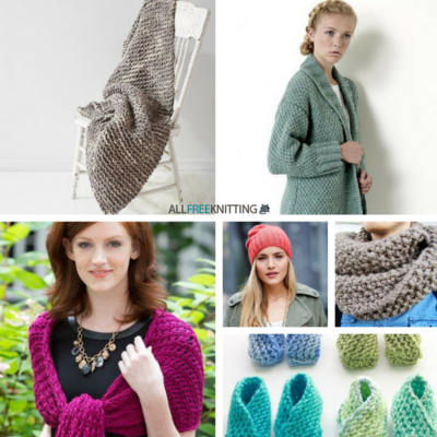 Check out the top 100 knitting patterns of 2016 from All Free Knitting.