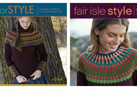 Giveaway: Two Color Knitting Books
