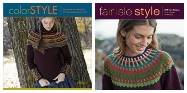 color knitting books giveaway