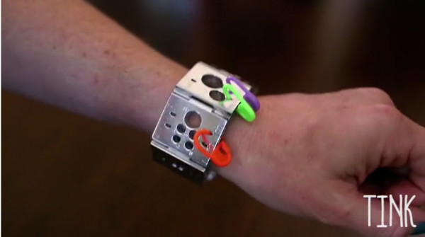 TINK wearable notions bracelet Kickstarter.