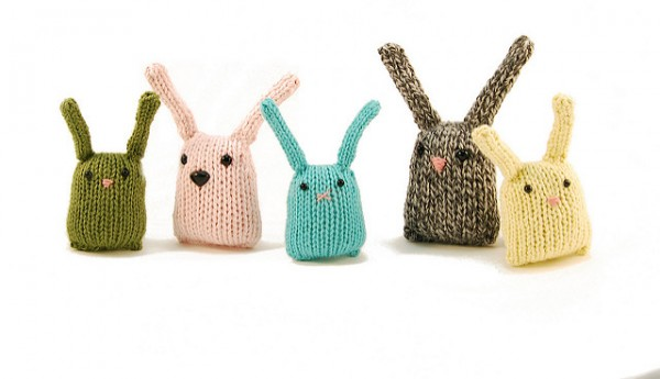 Knit a Bunny Nugget Or a Bunch