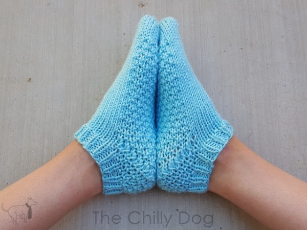worsted weight short socks knitting pattern
