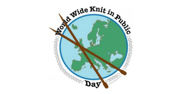 Worldwide knitting in public day