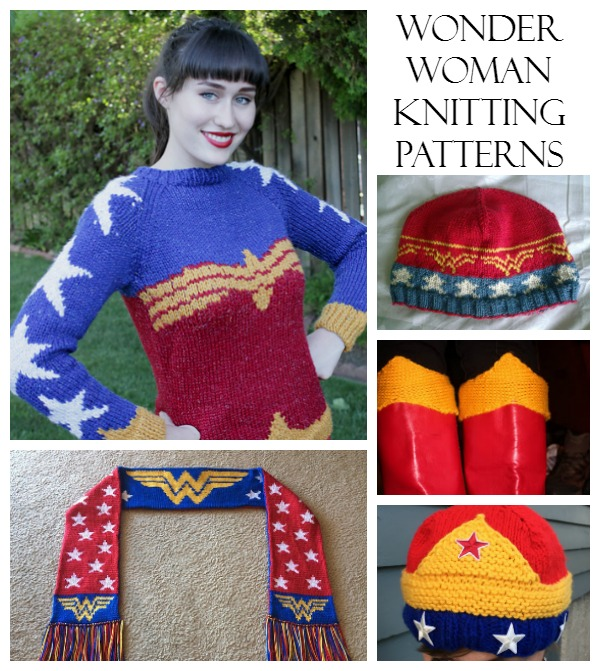 wonder woman knitting patterns