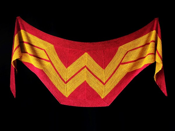 Knit a Wonder Woman Wrap.
