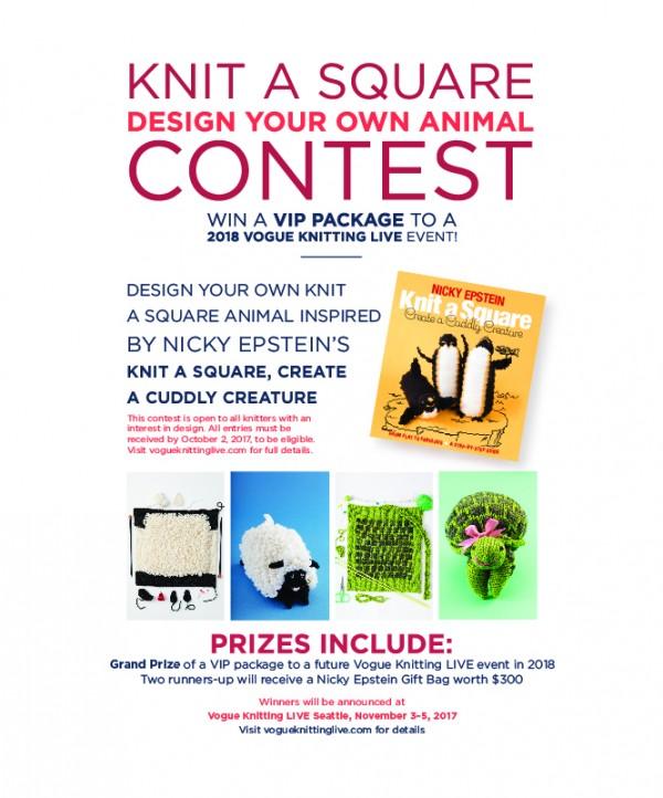 Knit a Square design contest