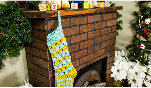 Get Ready for Christmas with a Fun New Stocking Pattern