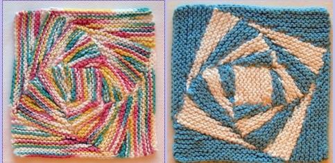 Stitch a Twisty Dishcloth