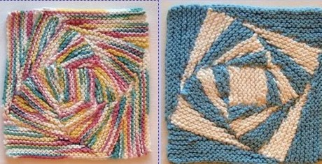 Stitch a Twisty Dishcloth