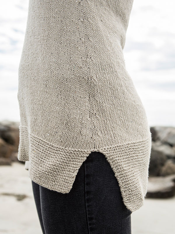 how to knit garments to accommodate wide hips