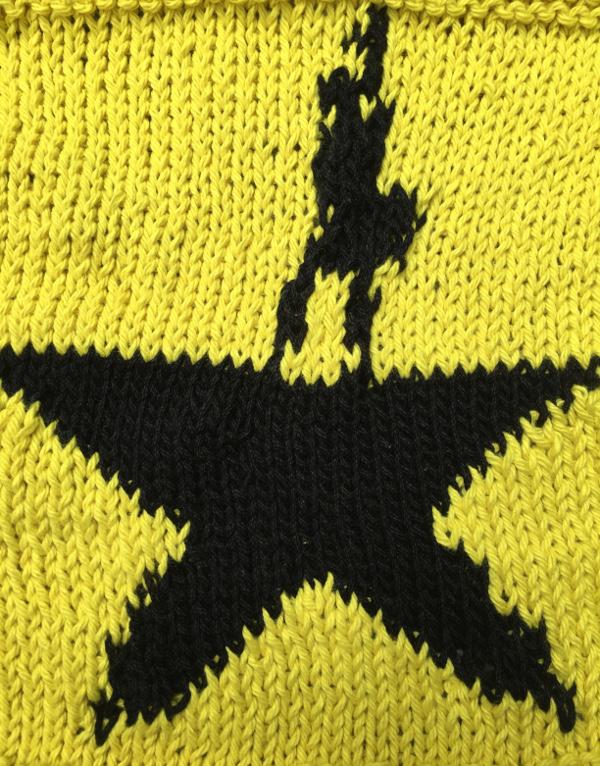Knit a Hamilton inspired washcloth.