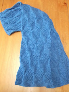 A Great Textured Scarf to Knit Now