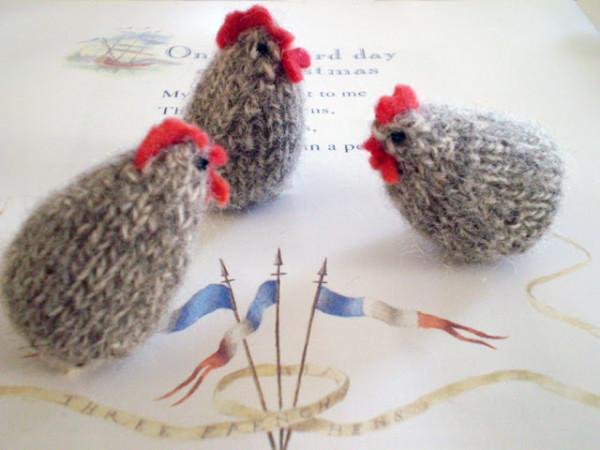 Tiny Hens To Knit Knitting
