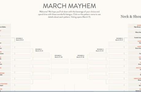 Celebrate Knitting with March Mayhem