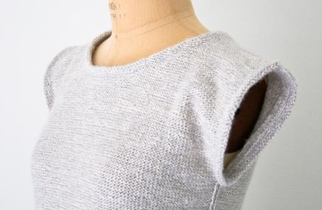 A Simple Top for Summer Knitting