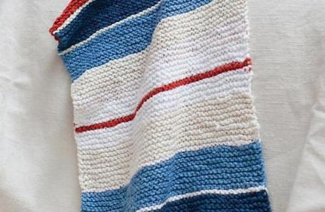 A Super Simple Towel Knitting Pattern