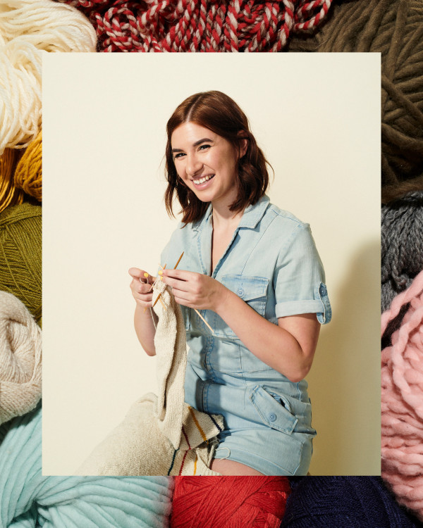 how and why to get started knitting