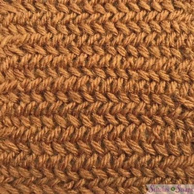 herringbone stitch tutorial